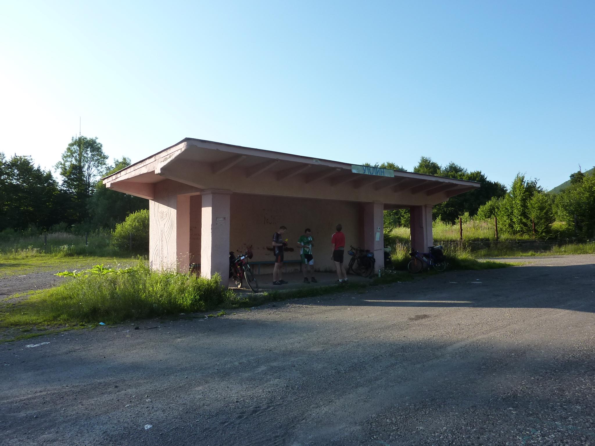 Zakarpatí, sedlo u Uklynu, 17.7.2011