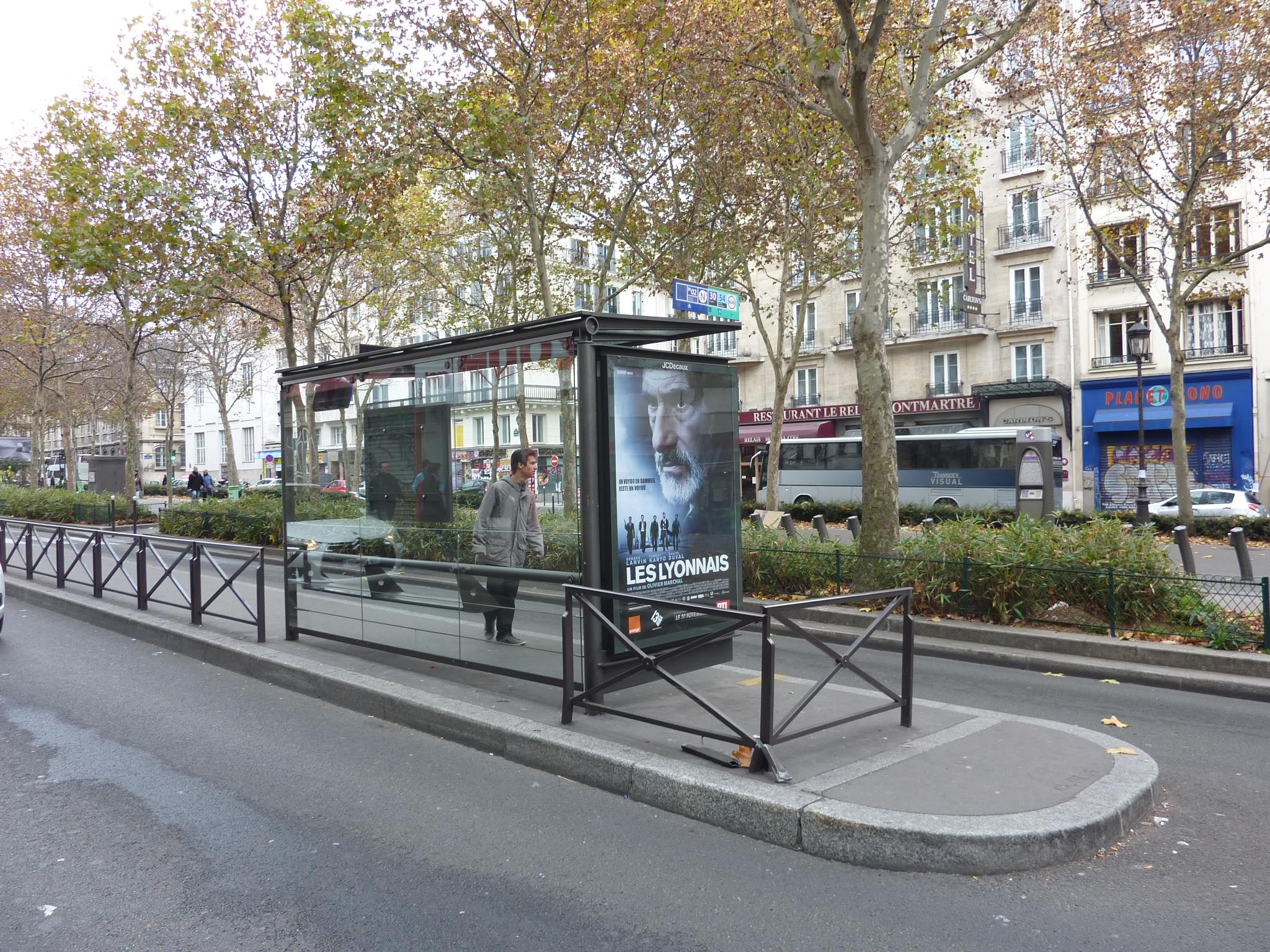 Francie, Paříž, Montmartre, 27.11.2011